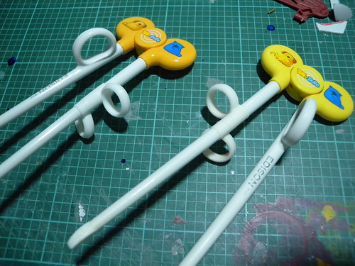 Chopstick exerciser modification #1