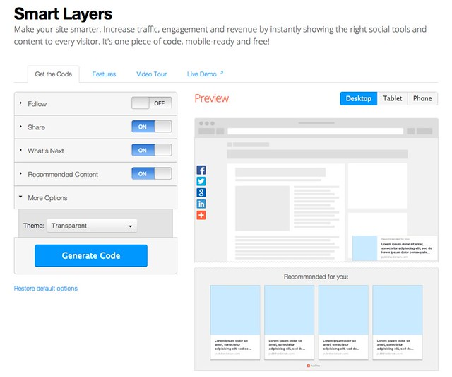 Addthis - Smart Layer