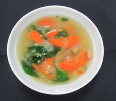Chicken Spinach Soup