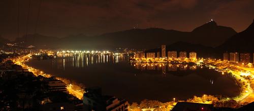 Rodrigo de Freitas lagoon-view from Cantagalo