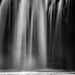 Waterfall B&W by sundog02