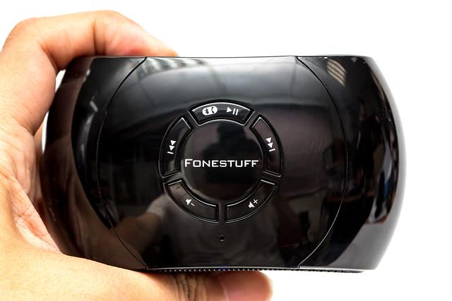 小體積大聲音!Fonestuff A10 重低音無線藍芽喇叭 @3C 達人廖阿輝