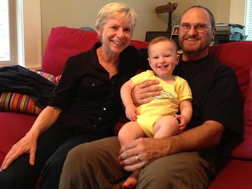 With Nana & Papa