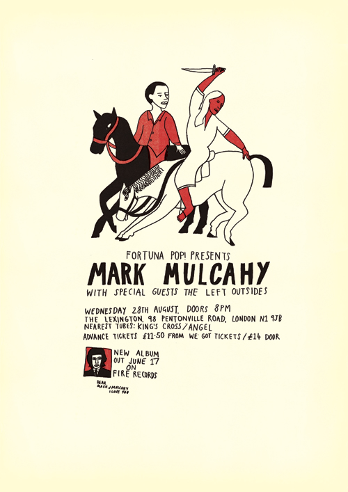 Mark Mulcahy Gig Poster