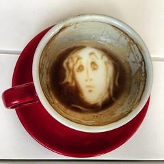 latte(0.0), espresso(1.0), cup(1.0), drinkware(1.0), coffee milk(1.0), coffee(1.0), coffee cup(1.0), turkish coffee(1.0), drink(1.0), caffeine(1.0),
