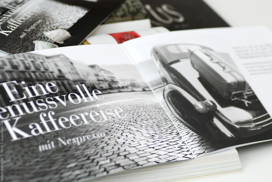 Nespresso advertising: a homage to travel book