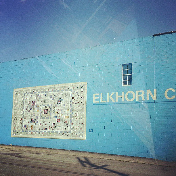 Elkhorn City #Kentucky #Quilt Art