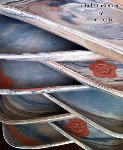 Pratos Marmorizados by cris couto 73