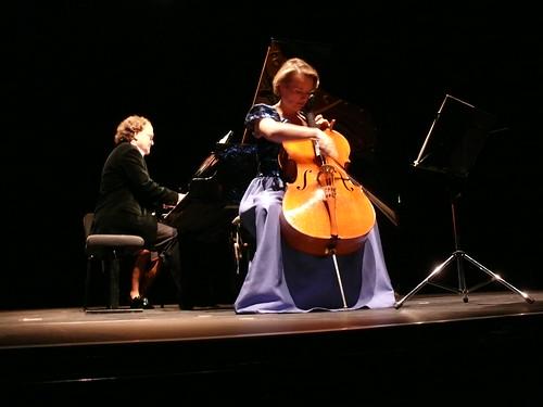 Recital in France
