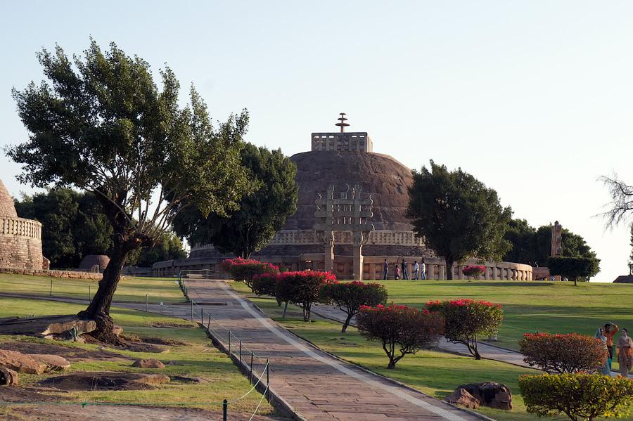 Санчи, Индия © Kartzon Dream - авторские путешествия, авторские туры в Индию, тревел видео, фототуры