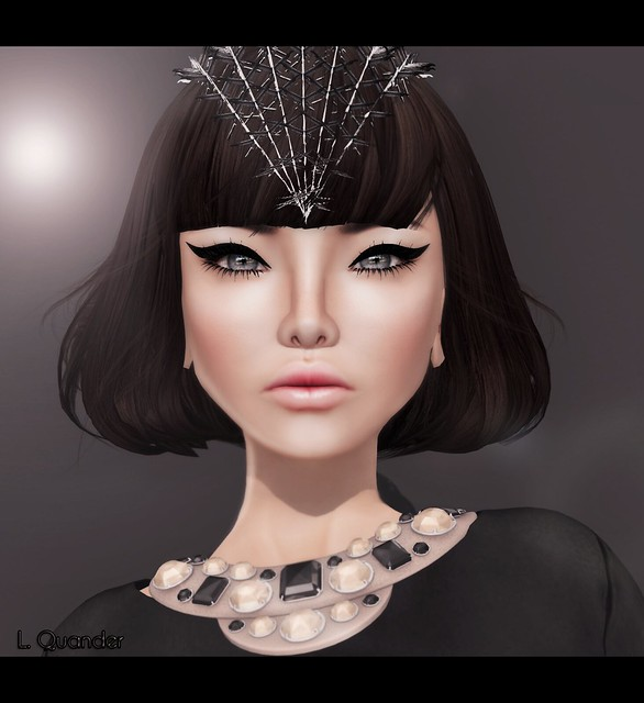 Glam Affair - Shanna ( Europa ) 05 (Black ) & PosESioN for L'accessoires