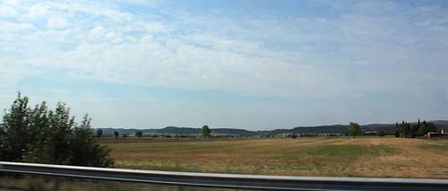 Panorami spagnoli: dal finestrino della macchina