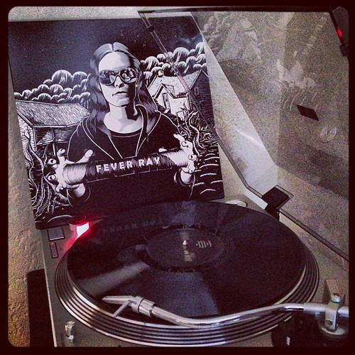 #todaysoundslikethis #feverray #clubrpm #nowspinning #photographicplaylist #vinyligclub #elpee by Big Gay Dragon