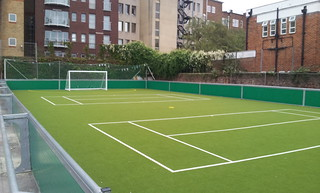 Marlborough playground football pitch