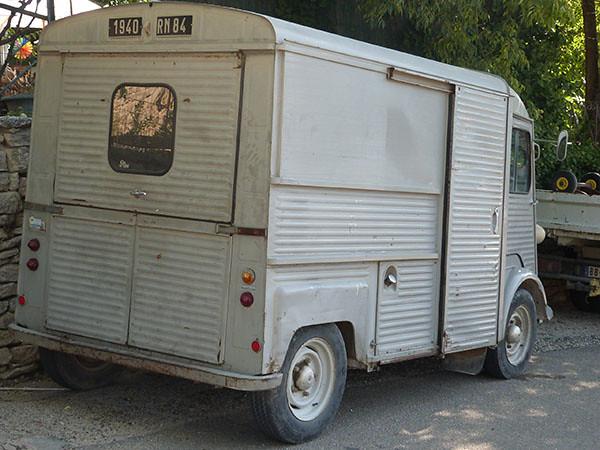 vieille camionette