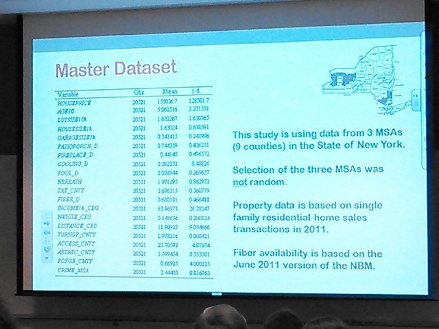 NCM 0275 Master Dataset: 3 MSAs, 9 counties, in New York State for 2011