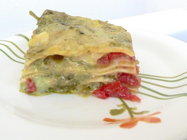 Lasagne con Pesto, Besciamella, Pachino e Mozzarella: Lasagne Tricolore Bimby per l'Estate