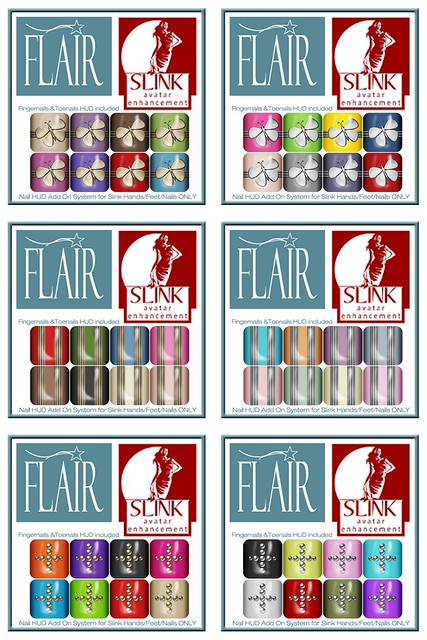 Flair - sets 154 - 159