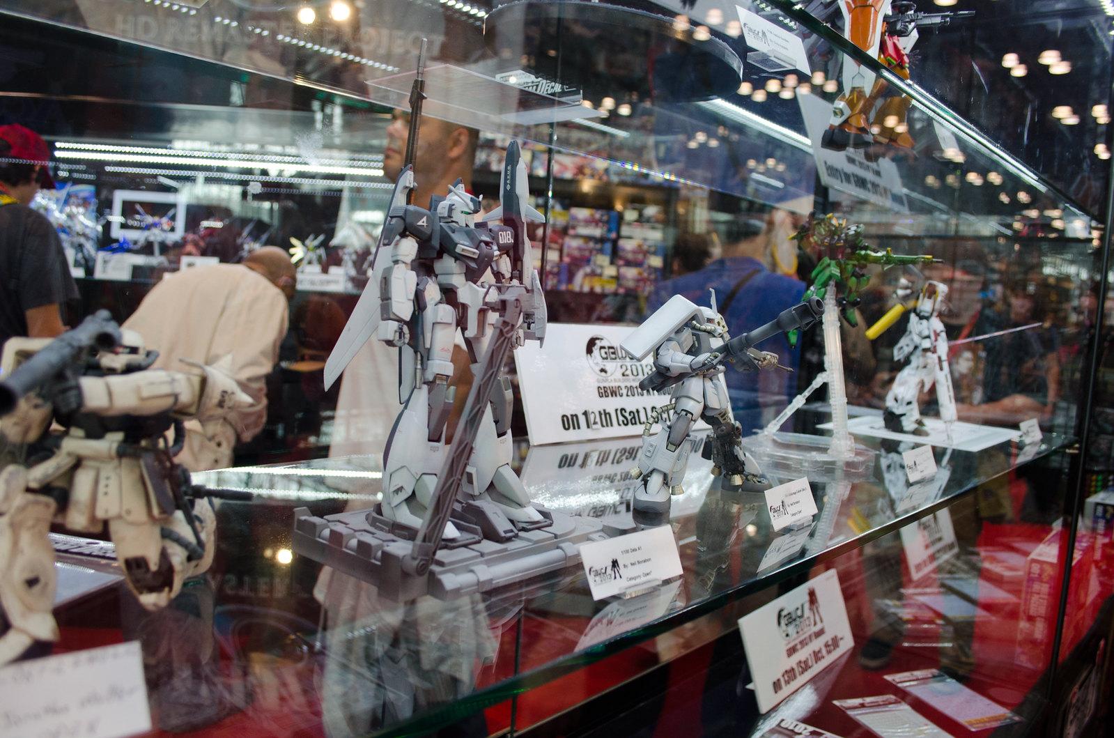 NYCC Gundam Kits
