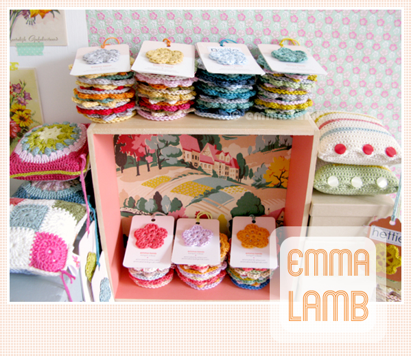 Garlands and pincushions agogo! | Emma Lamb