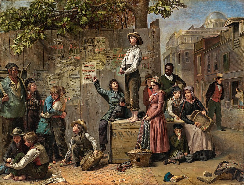 Thomas Le Clear - Young America (c.1863)