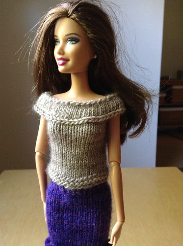 more Barbie knits