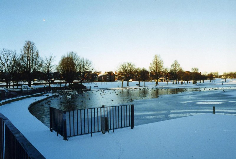 Hogganfield Loch in the Snow 2