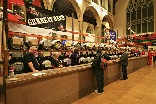 36th Norwich Beer Festival, St Andrew's Hall, Norwich