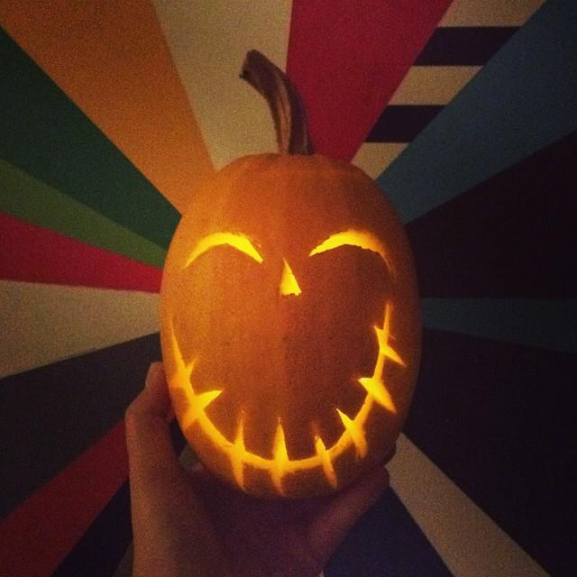 Happy Halloween! #pumpkin