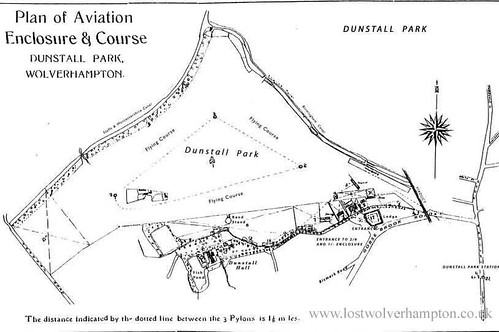 The Plan of aviation Enclosure and Course