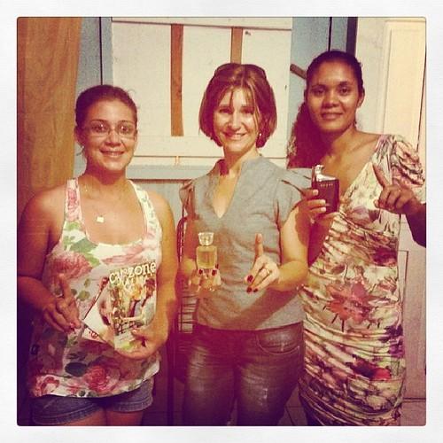 Nova consultora Belcorp em Balsa do Rio Madeira RO. Com nossas lideres Roberta e Laila