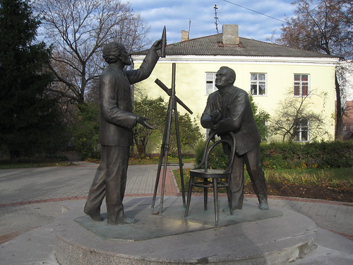 Ціолковський і Корольов.
