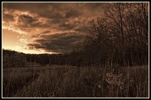sunset blackandwhite landscape lowlight nik sunsetlight sigma1770os photoshopelements9 topazbweffects