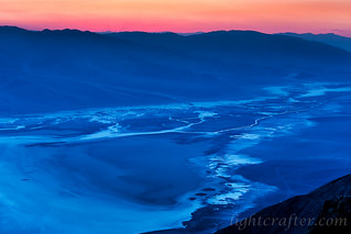 Sunset at Dante's View, Death Valley 2