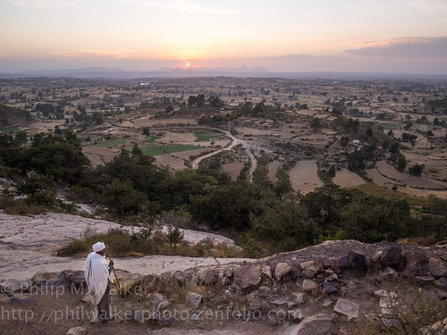 africa travel sunset white nature landscape scenery exotic priest elevated ethiopia wonderment discovery iconic inspiring cultural authentic robes contextual evocative fav10 tigray tigrai gheralta