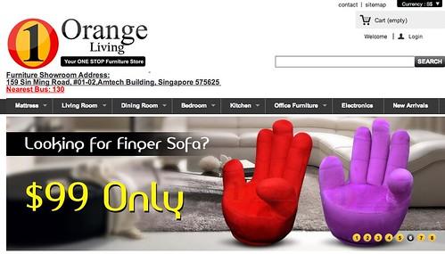 orange living online furniture store