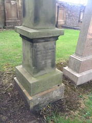 Thomas Davies was a civil engineer who appears to have settled in Edinburgh from Liverpool, and was married to Jane Goltherdwho was the widow of Thomas Innes. He practised from 14 South St Andrew Street. He died 10 August 1859 and was buried at Grange Cemetery. His wife survived him, dying on 30 Nov...