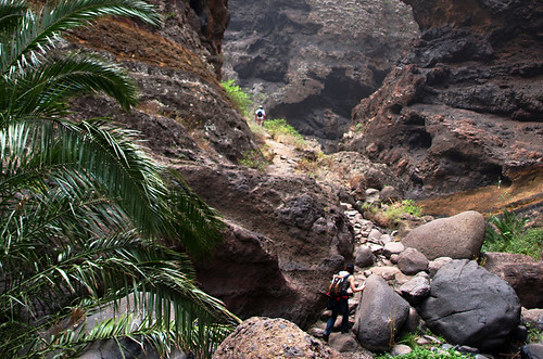 Walking the Masca Barranco, Tenerife