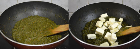 spinach and cottage cheese gravy
