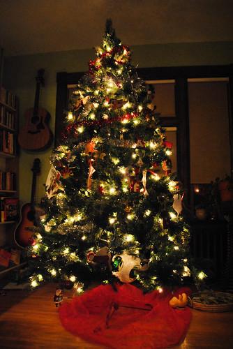 accidental tree decoration