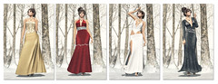 Rebel Hope winter gown colection