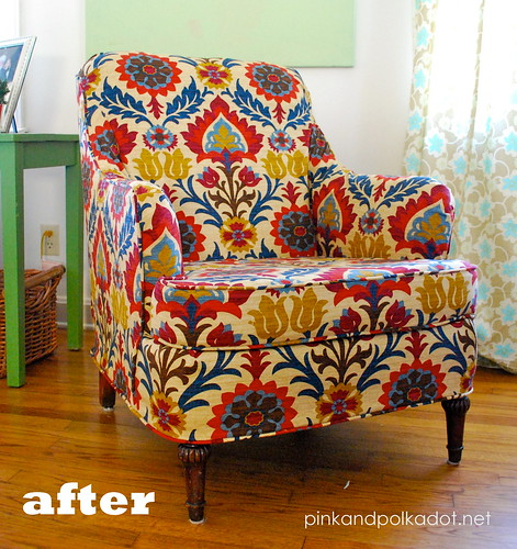 After Chair slipcover
