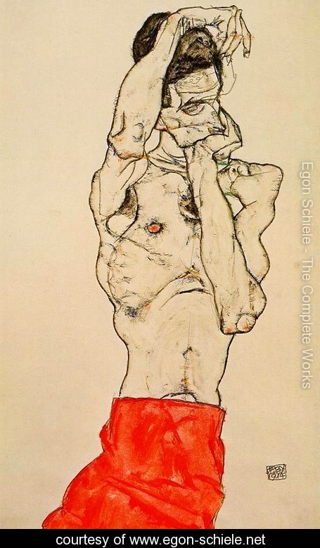 Standing-Male-Nude-With-A-Red-Loincloth-large