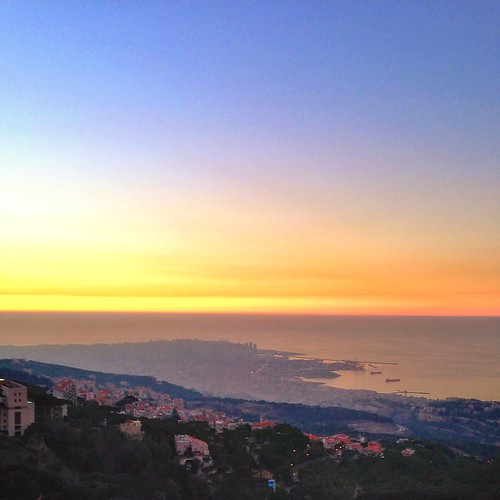 sunset lebanon cityscape beirut broumana brumana uploaded:by=flickrmobile flickriosapp:filter=nofilter