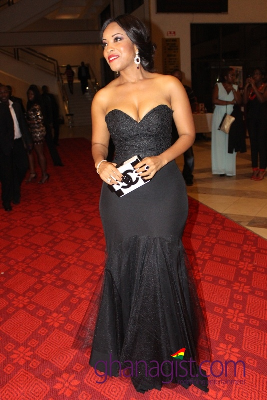 Joselyn Dumas at Ghana Movie Awards