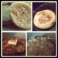 Homemade English Muffins...