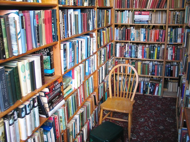 Bookcase Books in Carlisle.  Place of dreams.
