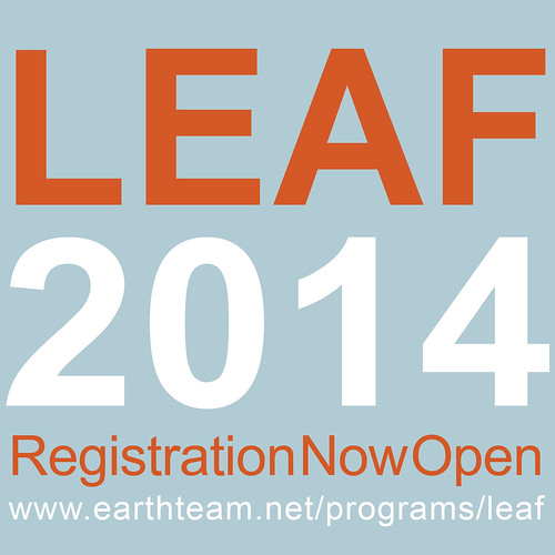 LEAF 2014 square registration open