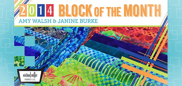 Craftsy Block of the Month 2014