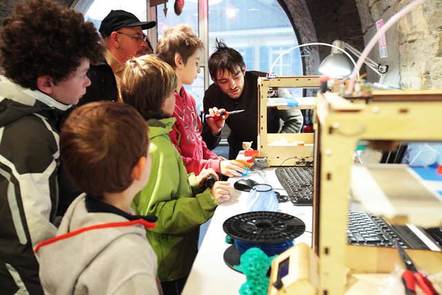 Fab Lab, un atelier de fabrication permanent ouvert à tous !